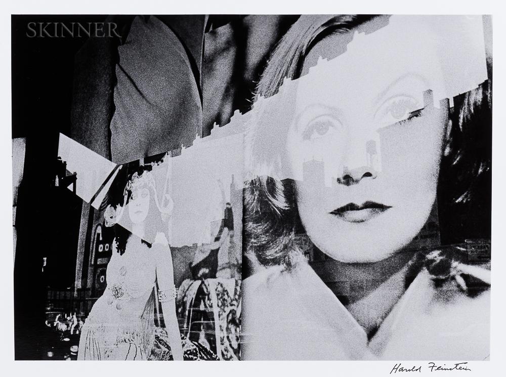 Harold Feinstein (American, 1931-2015)      Greta Garbo Poster