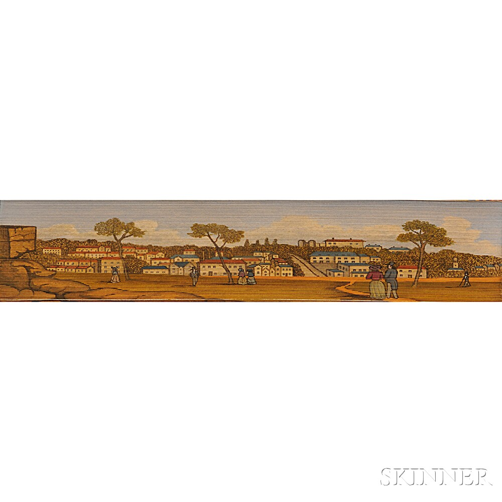 Fore-edge Paintings, Seven Octavo Volumes, British Subjects.