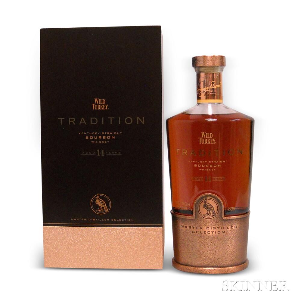 Wild Turkey Tradition, 1 750ml bottle