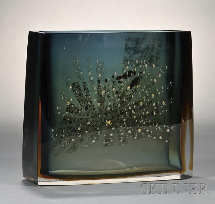 Pavel Hlava (Czech, 1924-2003) Glass Vessel