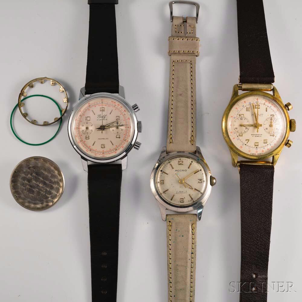 Three Vintage Wristwatches