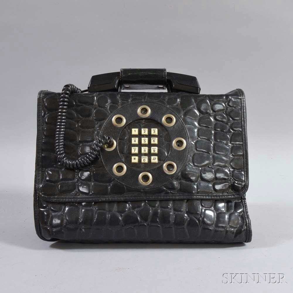 Black Telephone Handbag