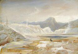 Thomas Moran (American, 1837-1926)  Yellowstone Park
