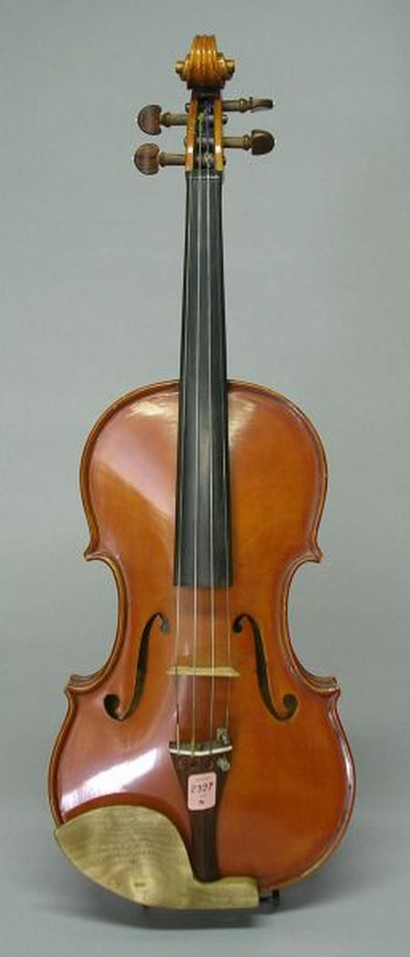 Contemporary American Violin, F.V. Henderson, Seattle, 1975