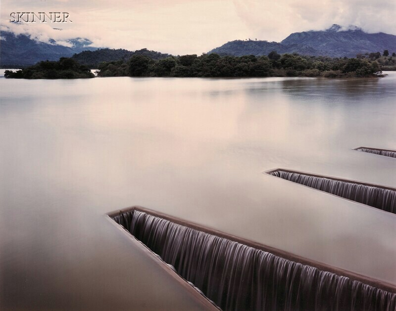 Laura Pryde McPhee (American, b. 1958) and Virginia Beahan (American, b. 1946) Sluices at a Reservoir near Badulla, Srilanka [sic], ...