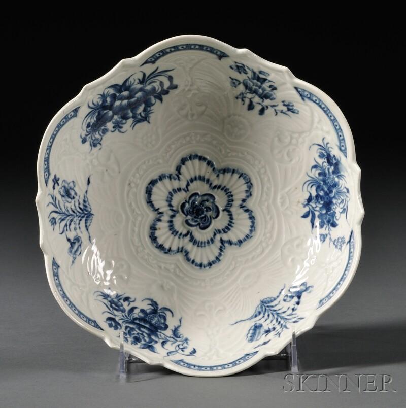 Worcester Porcelain Junket Dish