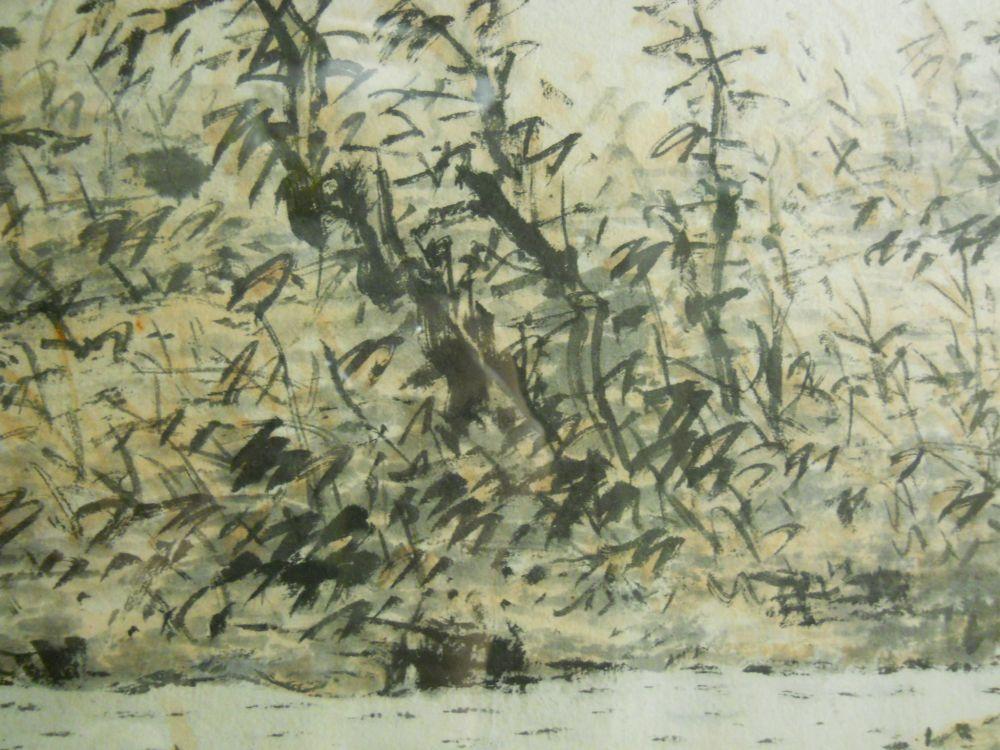 Painting Depicting a Landscape