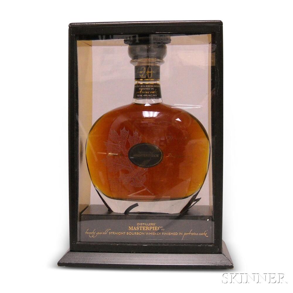 Jim Beam Distillers Masterpiece 20 Years Old, 1 750ml bottle