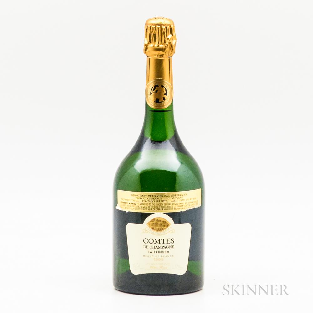 Taittinger Comtes de Champagne 1999, 1 bottle