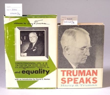 Truman, Harry S. (1884-1972), Signed copies