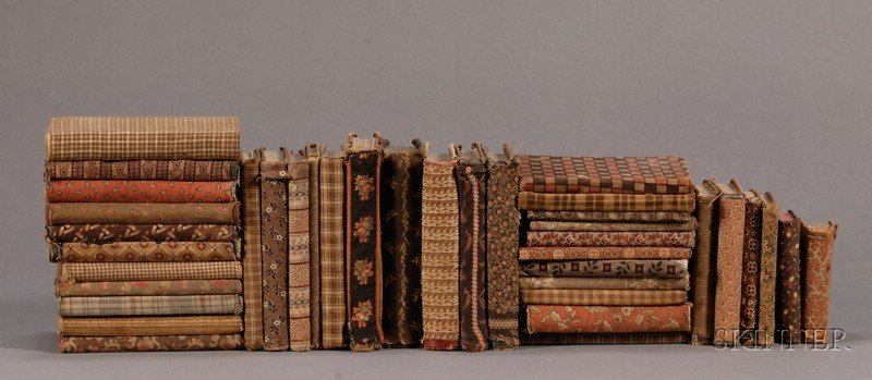 Thirty-eight Cloth-Covered Books