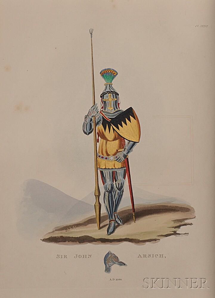 Meyrick, Sir Samuel Rush (1783-1848) and Joseph John Skelton (1783-1871) A Critical Inquiry into Antient Armour.
