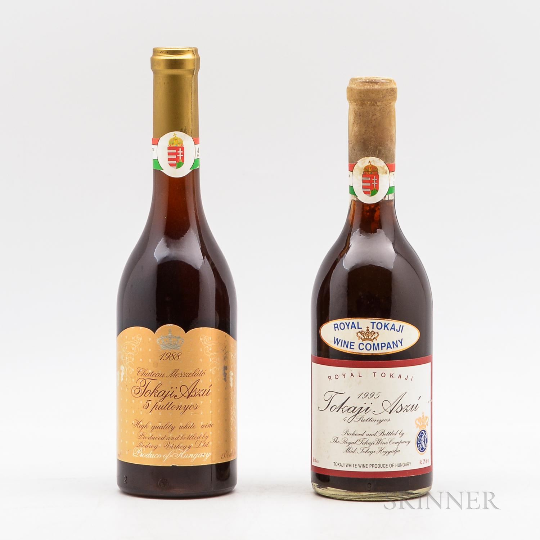 Mixed Tokaji, 2 500ml bottles