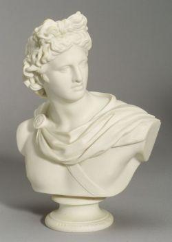 Copeland Parian Bust of Apollo