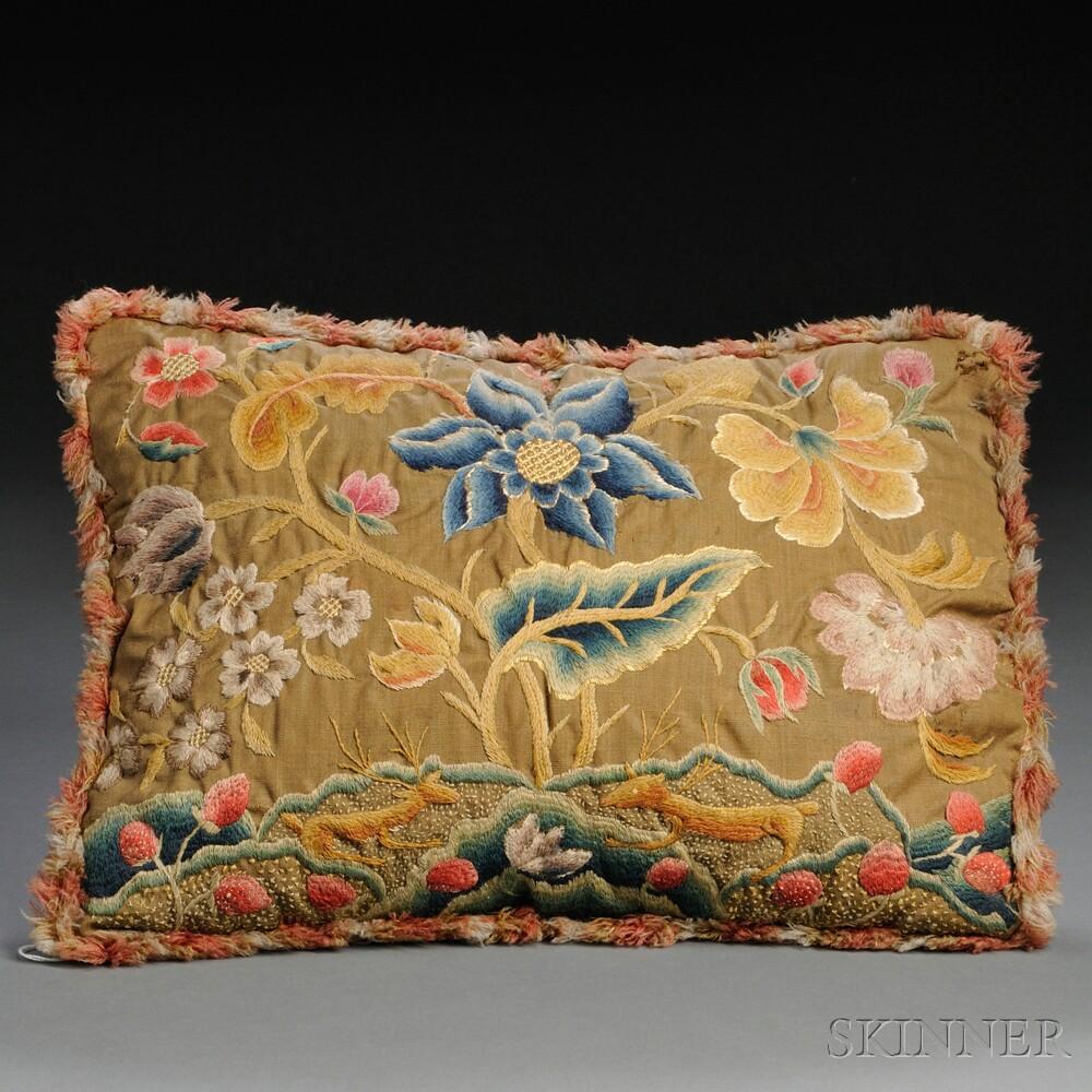 Crewelwork Pillow