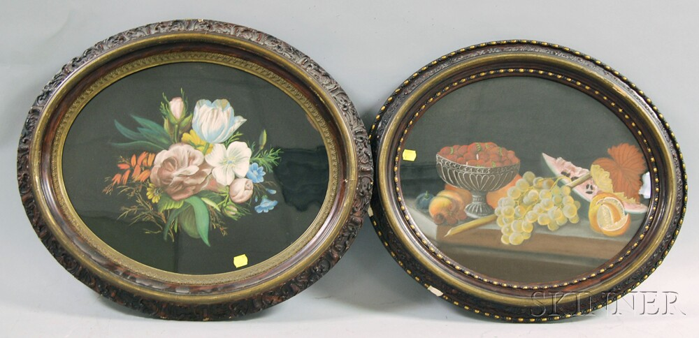 Two Chelsea Dart Pastel Still Lifes