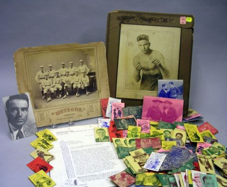 Group of Cigarette and Post Cards and Assorted Entertainment Ephemera