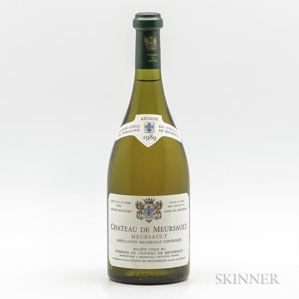 Chateau de Meursault Meursault 1989, 1 bottle