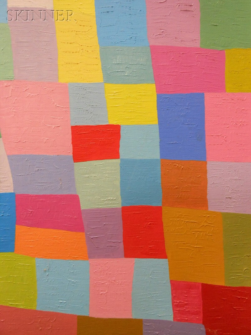 Michiel Theobald Gloeckner (American, 1915-1989)      Untitled (Geometric Abstract)