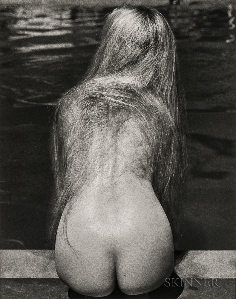 Ruth Bernhard (American, 1905-2006)      At the Pool