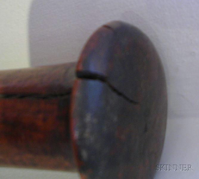 Polynesian Carved Wood Club