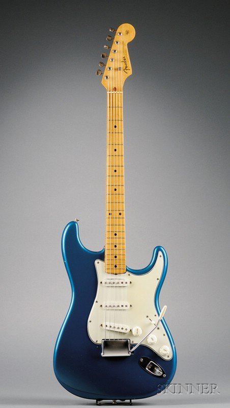 American Electric Guitar, Fender Electric Instruments, Fullerton, 1954, Mode   Stratocaster
