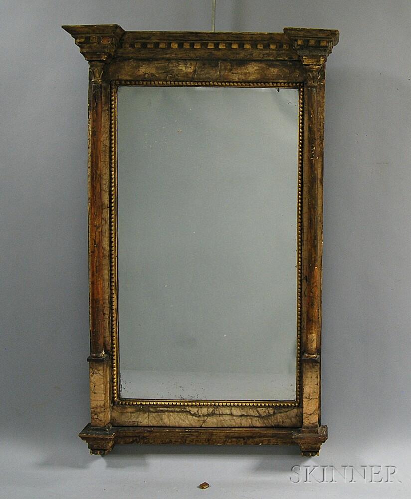 Gilt-gesso Bilbao Mirror