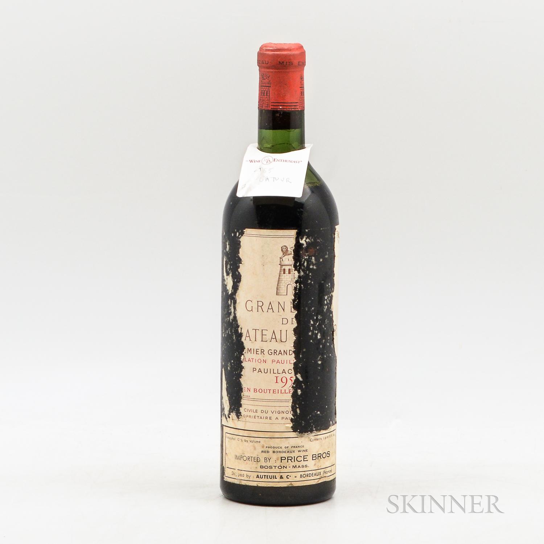 Chateau Latour 1955, 1 bottle