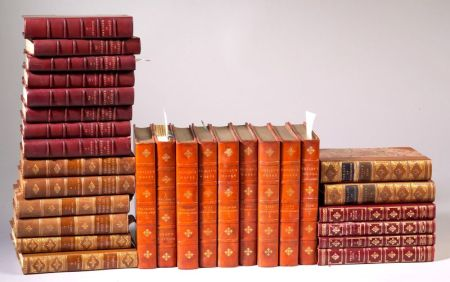 (Decorative Bindings, Ten Titles in Twenty-nine Volumes)
