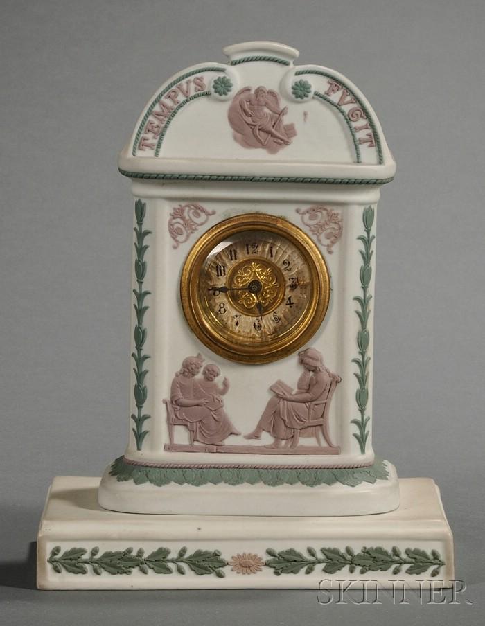 Wedgwood Three-Color Jasper Clock Case