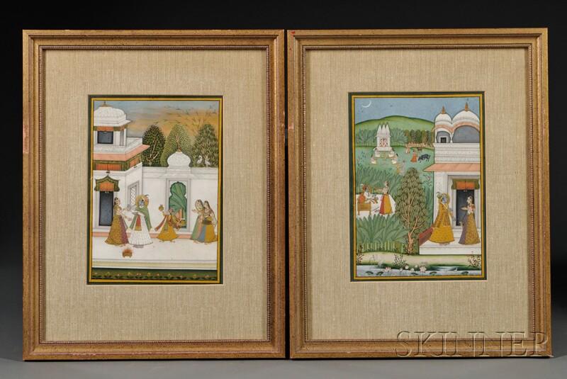 Pair of Miniature Paintings