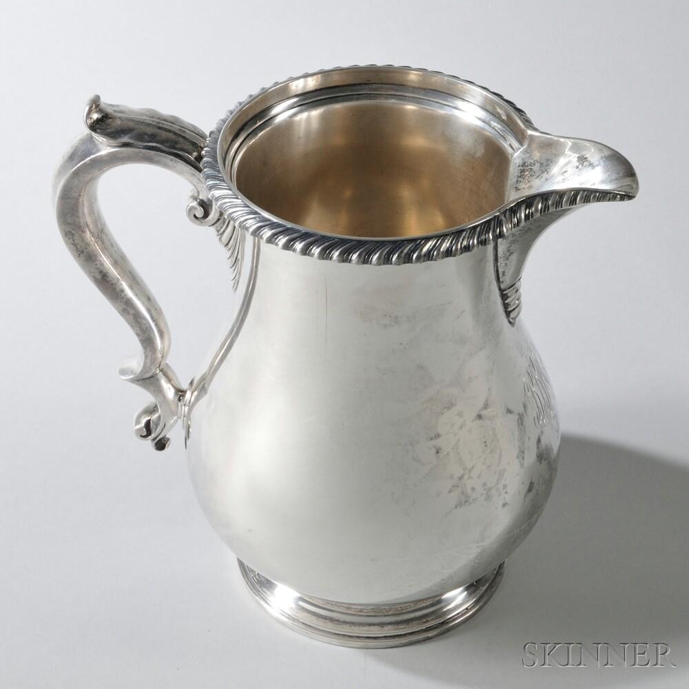 Gorham Sterling Silver 4 1/2-pint Water PitcherGorham Sterling Silver 4...