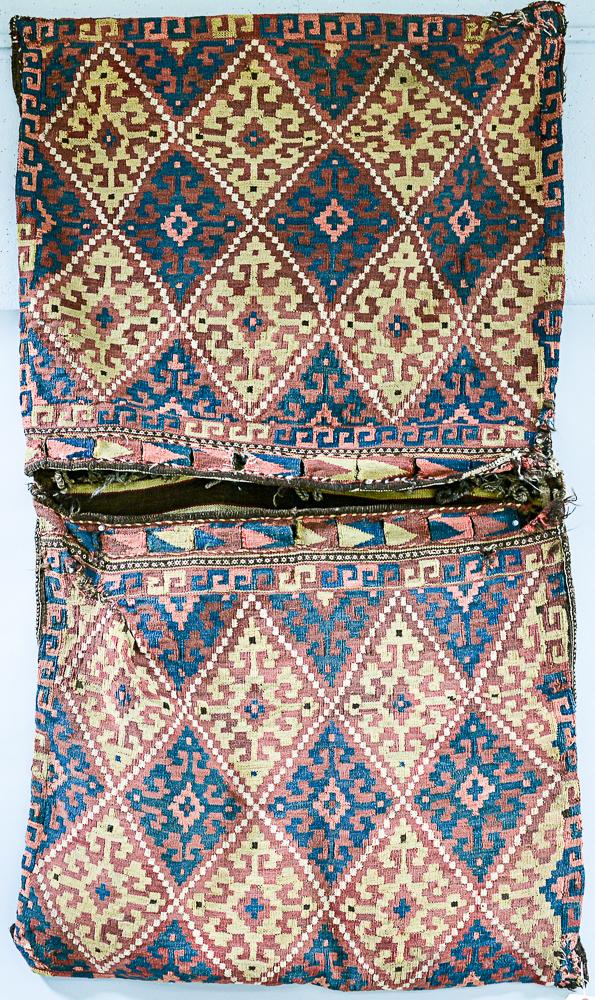 Pair of Afghan Kilim Bags