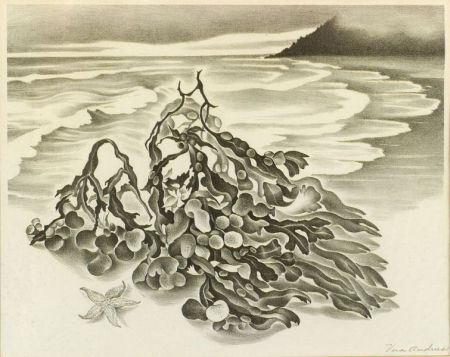 Vera Andrus (American, 1896-1979)  Lot of Two Still Lifes:   Seaweed