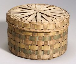 Northeast Painted Splint Basket