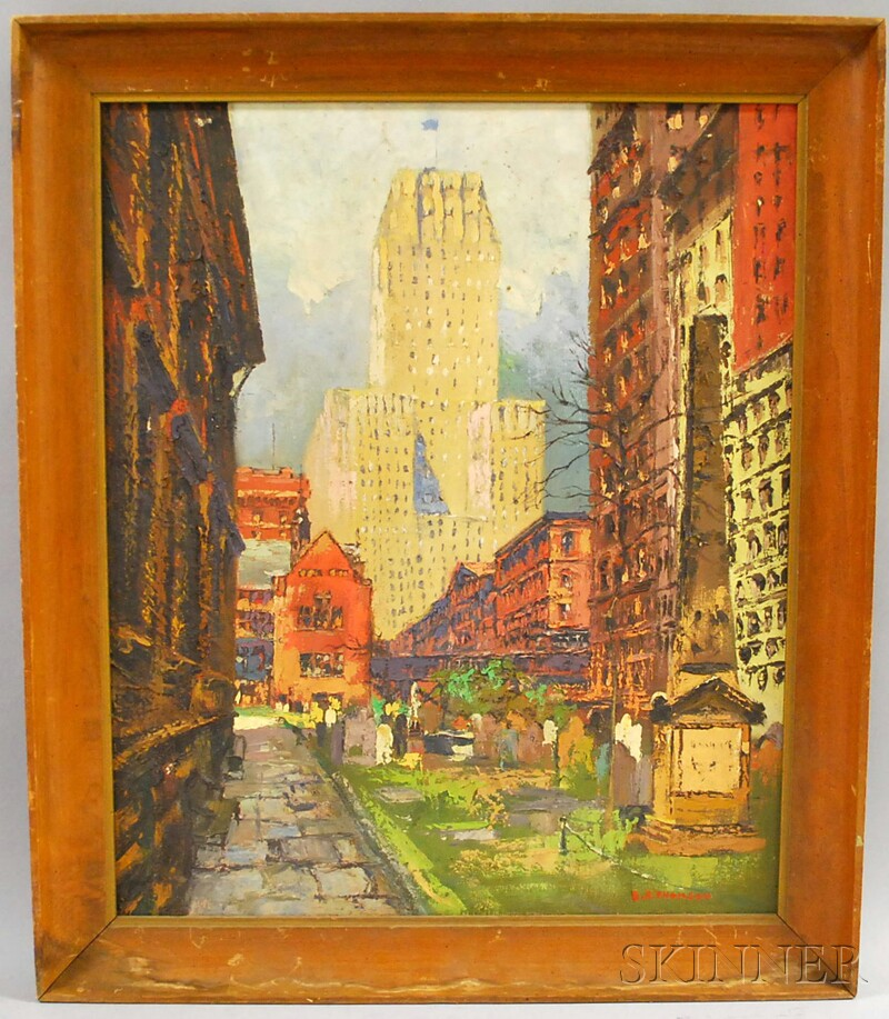 American School, 20th Century      City View