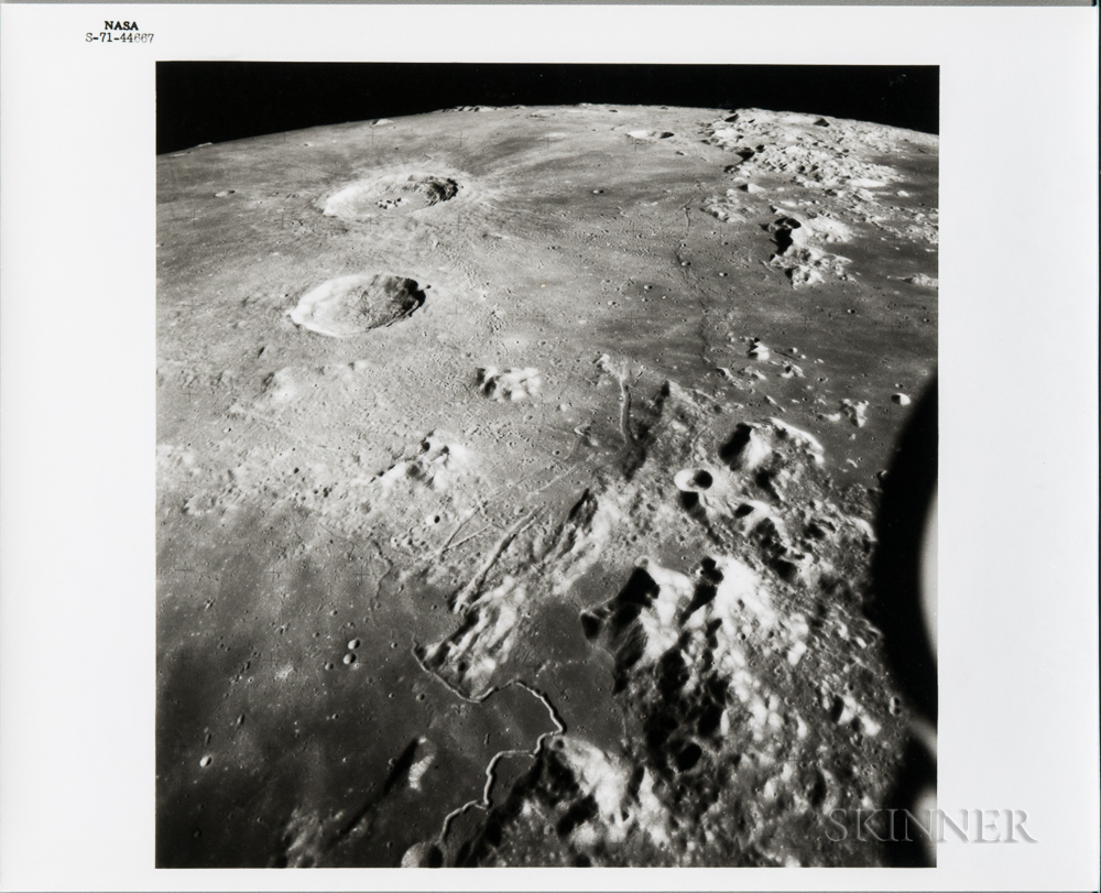 Apollo 15, Lunar Surface, July-August 1971.