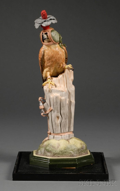Boehm Porcelain Figure of a Kestrel