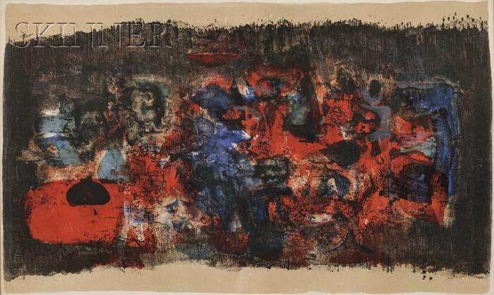 Zao Wou-Ki (Chinese, b. 1921)      Untitled