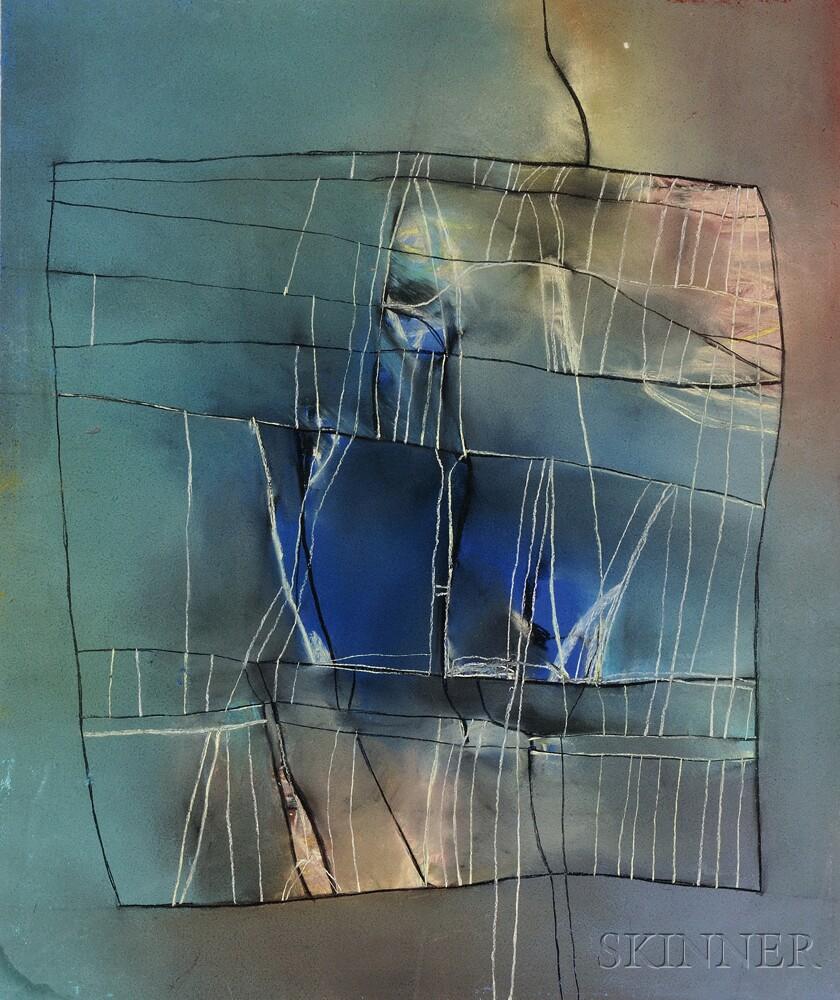 David Blackburn (British, b. 1939)      Untitled Abstract Composition