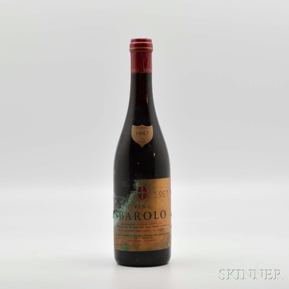 Marcarini Barolo Brunate 1967, 1 bottle