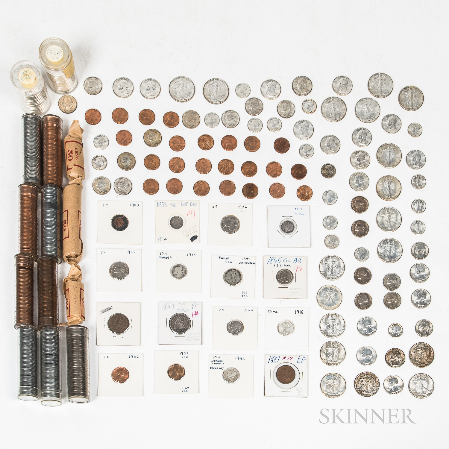 Group of Assorted American Coins