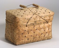 Northeast Splint Lidded Basket