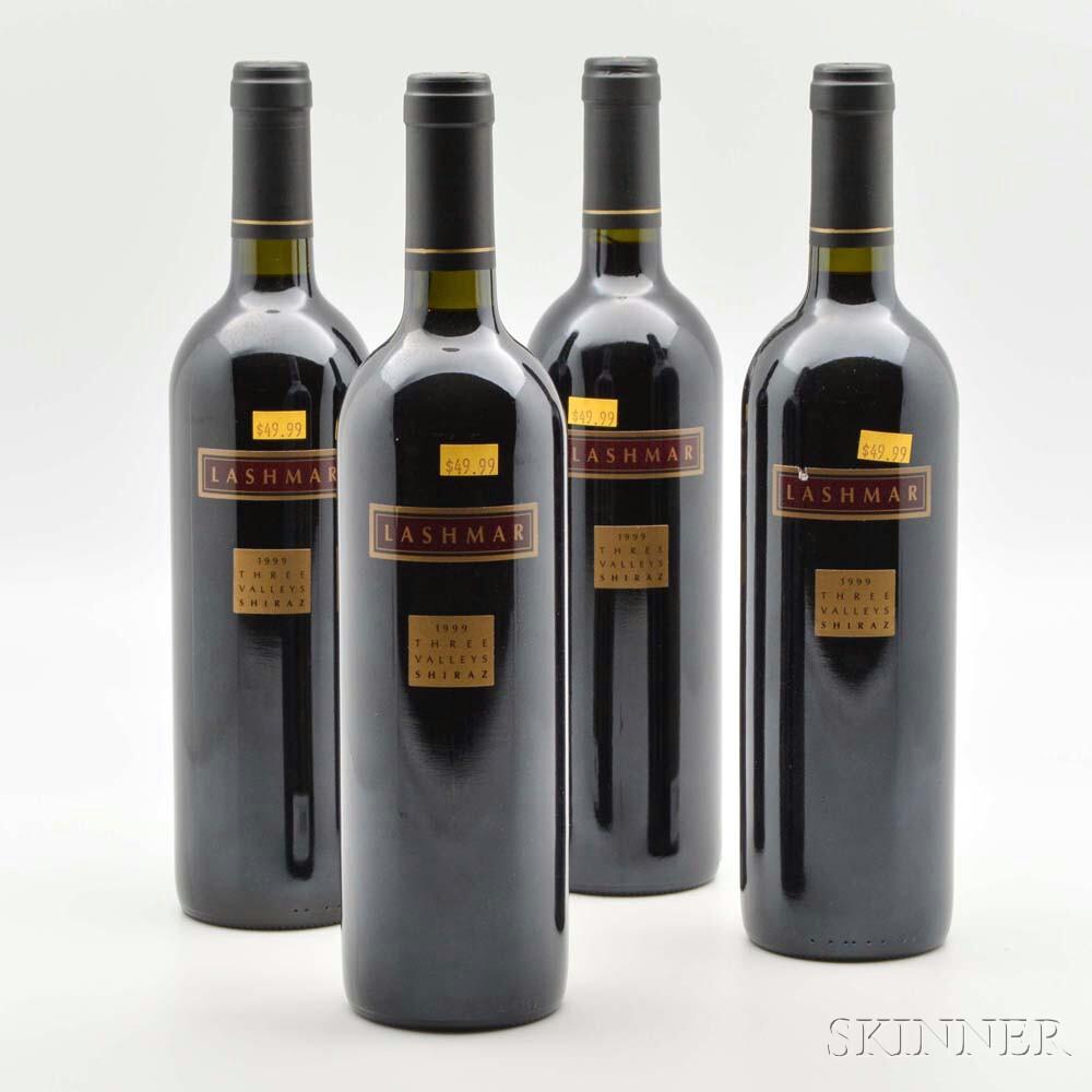Lashmar Three Valleys Shiraz 1999, 12 bottles