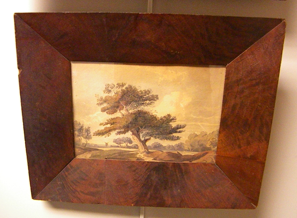 Anglo/American School, 19th Century      Three Framed Works: English Oak  , Two Oranges