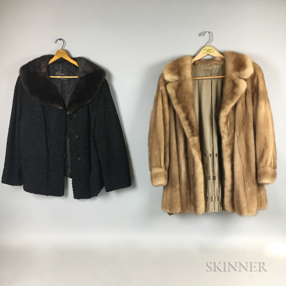 Two Fur Jackets