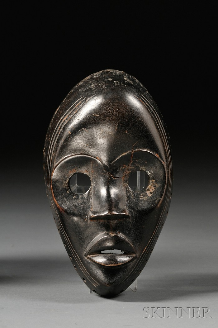 African Carved Wood Mask