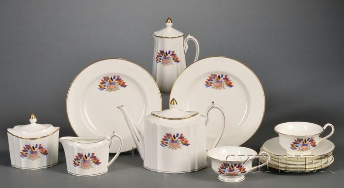 Wedgwood Liberty Bone China Tea Set