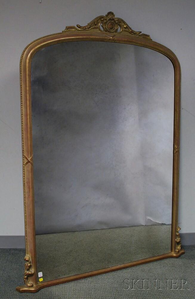 Large Gilt Pier Mirror