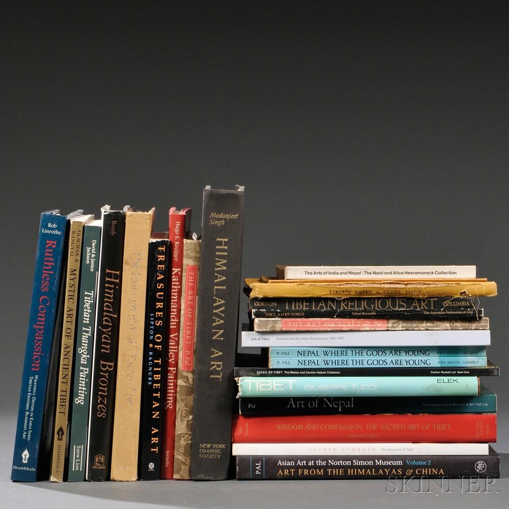 Twenty-four Books on Himalayan Art